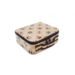 Компактный кейс для косметики с принтом 2-1015-2