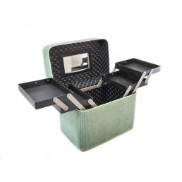 Кейс для косметики Calmi Delight Mint(4 полки) 4-1052-4 Мятный-зеленый