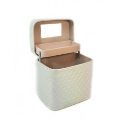 Кейс для косметики Calmi Diamond (1 полка) 4-1053-3 Cream