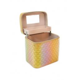 Кейс для косметики Calmi Diamond (1 полка) 4-1053-4 Chocolate