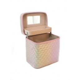 Кейс для косметики Calmi Diamond (1 полка) 4-1053-5 Gently Pink