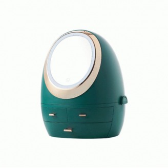 Комод для косметики Calmi Ovo Magic 5-1100-2 LED Малахит