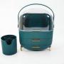 Комод для косметики Calmi 5-1102-2 Green + стакан для косметики