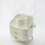 Комод для косметики Calmi 5-1102-1 White + стакан для косметики