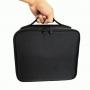 Компактный косметический кейс для хранения косметики и инструментов 2-1001 Черный