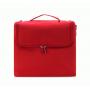 Кейс для косметики в чехле с органайзером Calmi 2-1005-4 Красный
