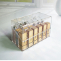 Органайзер шкатулка для хранения косметики с разделителем 5-1034-1
