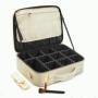 Профессиональный кейс визажиста Calmi Pure Beauty 4-1051-3 White&Black