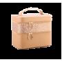 Сундучок для косметики и украшений Calmi Cafo 3-1090-3 Золотой