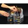 Акриловый органайзер для косметики прозрачный комод+стойка 5-1001-6