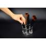 Акриловый органайзер для косметики 6 слотов (стойка-пистолетный барабан) 5-1007-1