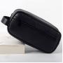 Мужской кожаный несессер Stern Black 2-1025-1