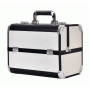 Чемодан визажиста Calmi Keeper 7-1049-2 White&Black