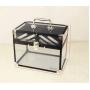 Прозрачный бьюти-кейс для косметики Gladcase 7-1050-1