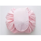 Вместительная косметичка на затяжке Vely Vely 1-1030 Розовая