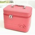 Кейс сундучок с бантиком-бабочкой (большой) 4-1036-7 Розовый