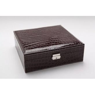 Большая шкатулка для украшений Crock Brown 3-1073-6