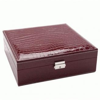 Большая шкатулка для украшений Crock Purple 3-1073-4