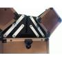 Профессиональный кейс визажиста 7-1044-1 Titan Black (уцененный, скидка 25% )