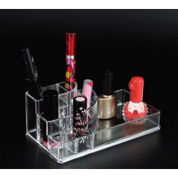 Акриловый органайзер для косметики 8 слотов (стойка) 5-1026-1