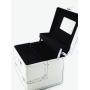 Кейс для косметики и украшений F-Cube серебристый 7-1036-1