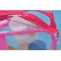 Прозрачная косметичка из ПВХ (комплект 3 шт) 1-1062-2 Розовый