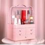 Переносной комод для косметики из ABS Розовый 5-1061-1