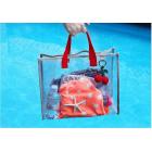 Сумка для бассейна и косметики Summer Aloha Holydays Красная