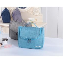 Дорожная косметичка Travel Bag голубая с крючком 1-1041-3