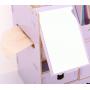 Сборный органайзер для косметики с зеркалом (3-4 ящика) 5-1073-4 Фиалковый