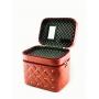 Кейс для косметики со стразами Krey Diamond (2 отделения) Бордо 4-1042-1