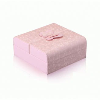 Шкатулка для украшений  C-ButterFly розовая  3-1074-2