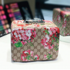 Кейс чемоданчик для косметики с выдвижной полочкой с яркими принтами 4-1018-3