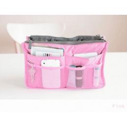 """Раскладной несессер """"Сумка в сумке"""" Розовый 1-1017-3"""