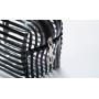 Прозрачная косметичка из ПВХ Black Design 1-1044-2