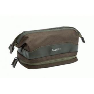 Мужская косметичка с карманом для полотенца Fadish 1-1013-1 Болотный зеленый