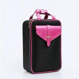Косметический кейс для хранения косметики и инструментов 2-1009 Pink