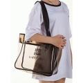 Пляжная сумка для косметики из ПВХ 1-1022 XXL Gray