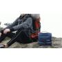 Многофункциональный водонепроницаемый дорожный несессер с отделением для полотенца 8-1007-5 Темно-синий