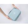 Дорожная раскладная косметичка с крючком Fadish голубая