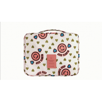 Несессер для путешествий Monopoly Travel 8-1006-14 Розовый смайлик