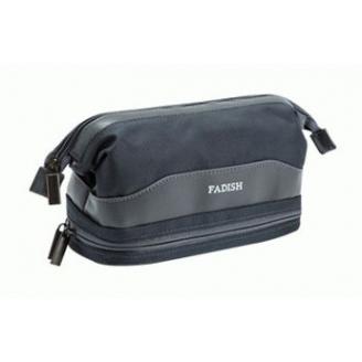 Мужская косметичка с карманом для полотенца Fadish 1-1013-3 Темно-серая