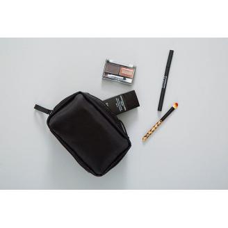 Компактная повседневная косметичка Gatria цвет черный