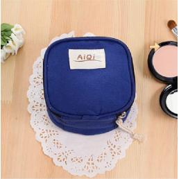 Косметичка для салфеток и ежедневок «AiQi» синяя 1-1047-3