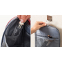 Многофункциональный водонепроницаемый дорожный несессер с отделением для полотенца 8-1007-4 Черный