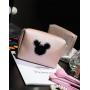 Косметичка Mickey застежка с жемчужиной 4-1009-1 Бежевая