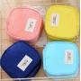 Косметичка для салфеток и ежедневок «AiQi» розовая 1-1047-5
