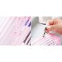 Прозрачная косметичка из ПВХ Pink Style 1-1044-1