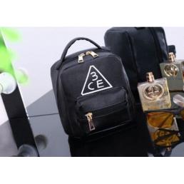 Вместительная косметичка 3 Concept Eyes с внешним карманом 4-1003-3 Черная