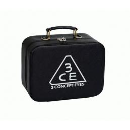 Чемоданчик для косметики с выдвижной полочкой 3CE черный 4-1043-3
